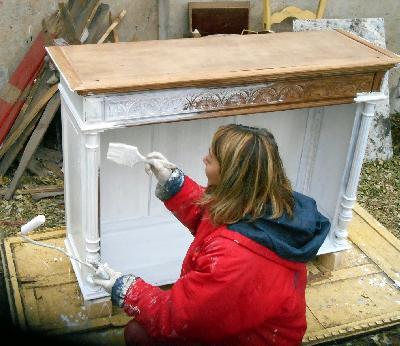 Formation artisans r mun r s tages palettes meubles en palettes cr ation meubles palettes - Meuble henri 2 relooke ...