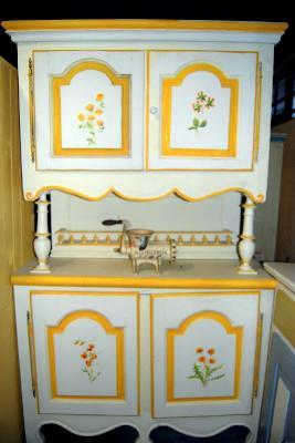 Mobilier peint meubles originaux meubles peints sold s meubles peints sur c - Meuble peint provencal ...