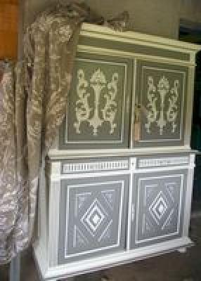Relooking meubles artisan d art meuble peint cr ation d 39 entreprise en relooking meubles - Meuble henri 2 relooke ...