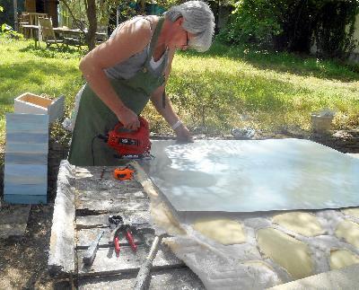 Fabrication produits colo cr ation entreprise co for Plaque de zinc pour recouvrir un meuble