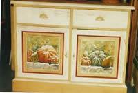 Relooking vaisselier peint commodes peintes commodes d cor es decor sur m - Meubles peints provencaux ...